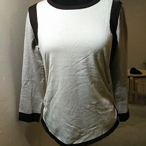 ONE A Ruched Sweater